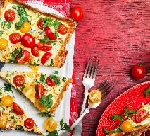 Szybka tarta z ciasta filo z pomidorami i serem ricotta