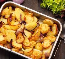 Pieczone ziemniaki z cebulą, czyli 'Forma Obfitości' Laury Osęki