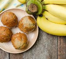 Muffinki z bananami - przepis Ewy Wachowicz [WIDEO]