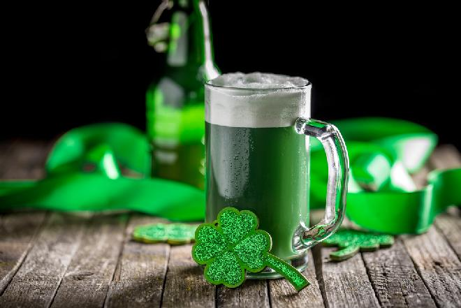 Zielone piwo - przepis na Dzień Świętego Patryka