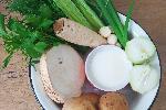 Zupa krem z białych warzyw: przepis krok po kroku
