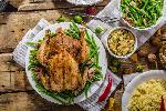 Kurczak pieczony nadziewany wątróbkami