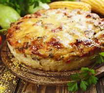 Zapiekanka z kaszy jęczmiennej z mięsem mielonym i warzywami