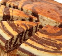 Ciasto zebra - słodki, kulinarny powrót do lat 90-tych