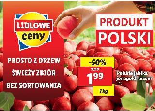Jabłka prosto z drzew od polskich sadowników ponownie na Ryneczku Lidla