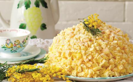 Tort Mimoza: włoskie ciasto z okazji Dnia Kobiet