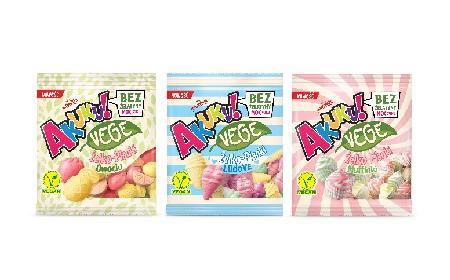 Akuku! VEGE - pierwsze na rynku wegetariańskie żelko-pianki