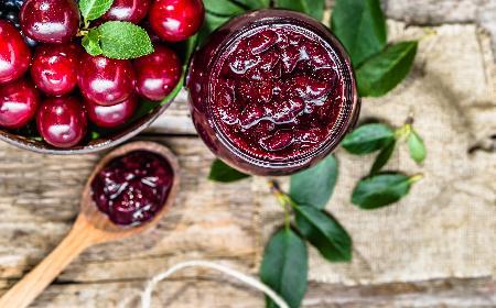 Dżem czereśniowy - jak zrobić dżem z czereśni? [łatwy przepis]